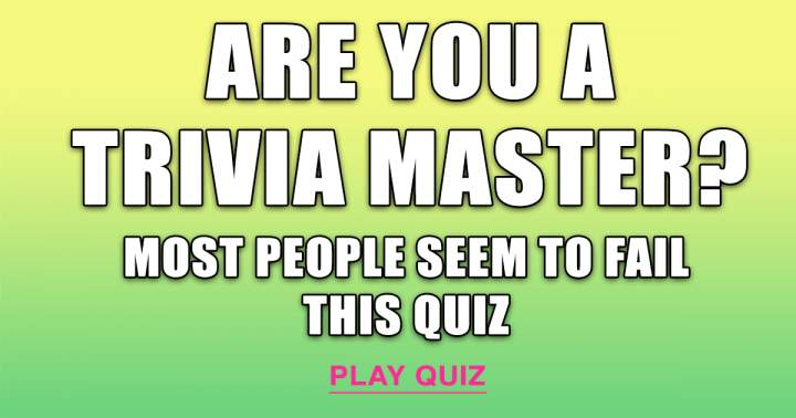 Trivia Master Test