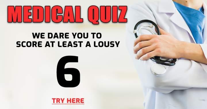 Medical Trivia Quiz
